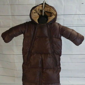 Baby Gap Size Down Feather bunting snow suit